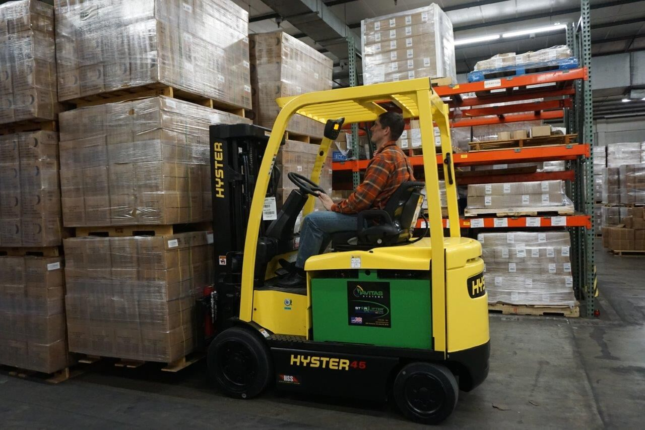 Lithium-Ion Batteries For Lift Trucks