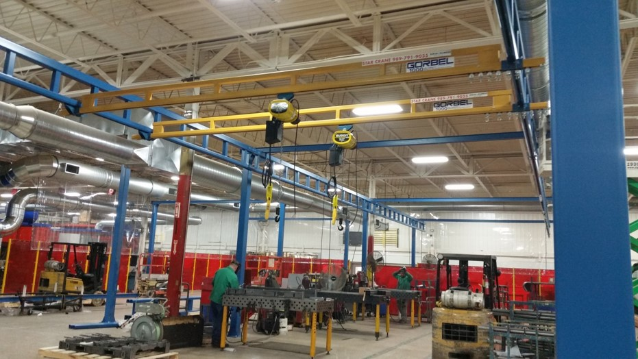 Industrial Cranes & Warehouse Hoists