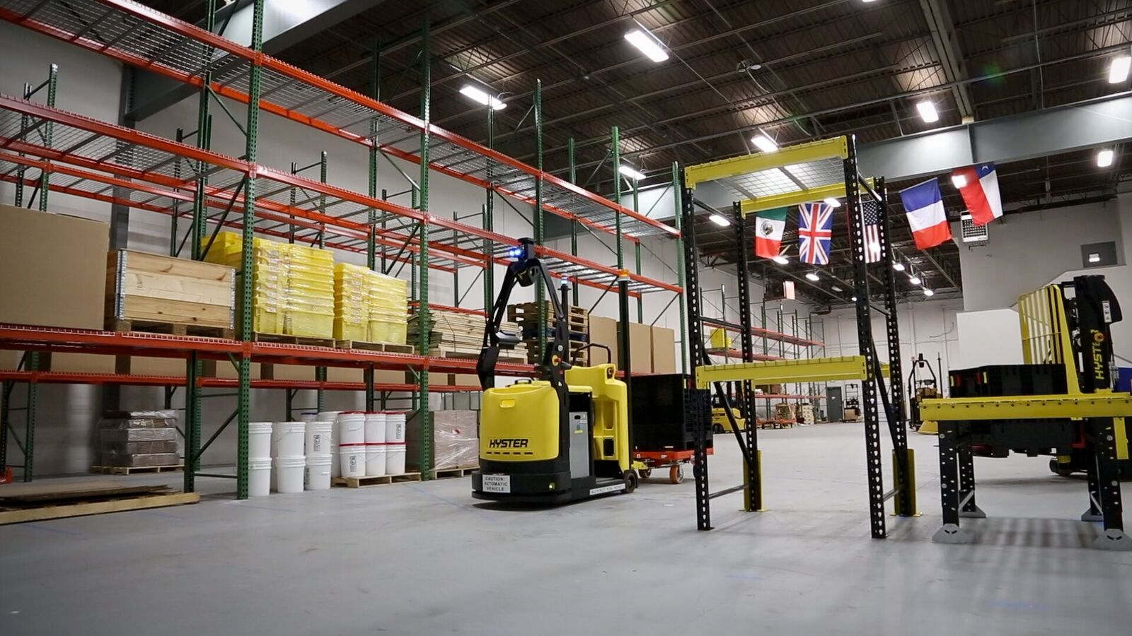 Robotic & Self-Guided Forklifts