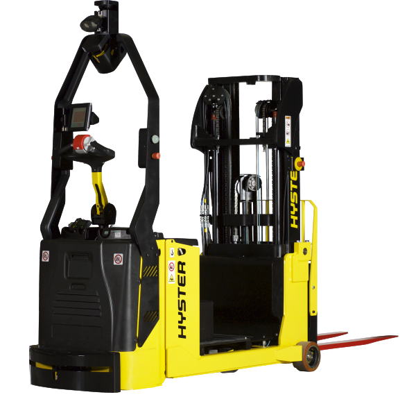 Robotic Hyster & Yale Forklifts Driven By Balyo | Alta