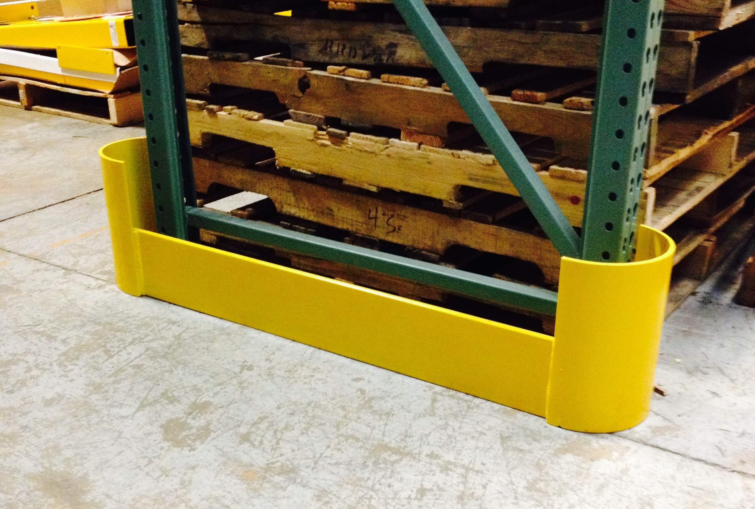 Loading Dock Stops, Guard Rails, Pallet Stops, Rack Guards, & More